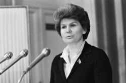 Valentina Tereshkova, first woman in space, to turn 80