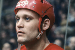 Soviet ice hockey forward Vladimir Petrov dies aged 69